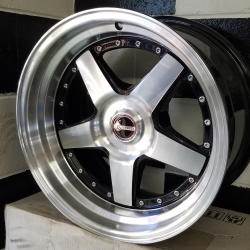 OS Formula Spoke 17 x 8 Machine Face